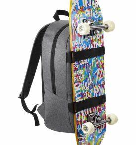 Zaino scuola skateboard pc tablet