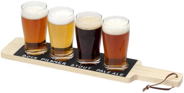 Vassoio bicchieri birra drink