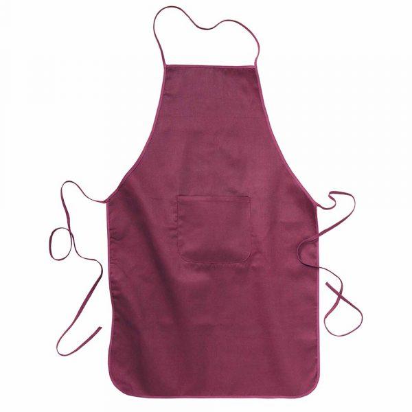 Grembiule cuoco in cotone e poliestere con o senza tasca