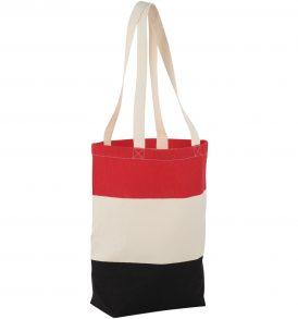 Borsa cotone colorata spiaggia e shopping