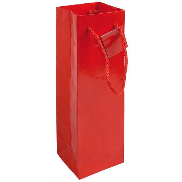 Borsa in carta laminata per bottiglia