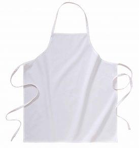 Grembiule cucina in cotone con o senza tasca