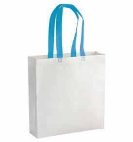 Shopper promozionale in tnt con manico lungo colorato