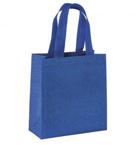 Borsetta Glitter in tnt laminato promozionale confezione regalo