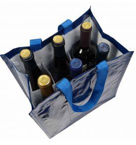 Borsa polipropilene per bottiglie