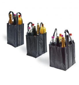Borsa tessuto non tessuto per bottiglie
