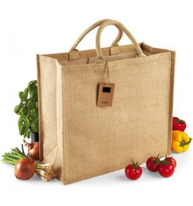 Shopping jute bag grande