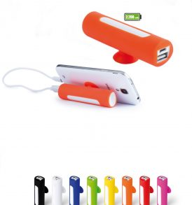 Power Bank 2200 mAh con ventosa
