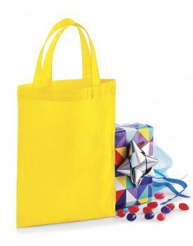 Borsa cotone piccola pacchi regalo