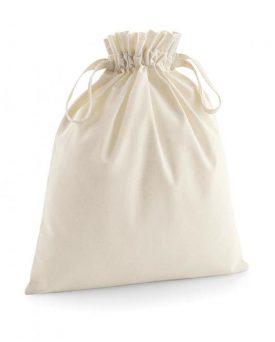 Sacchetto in cotone organico cerimonie e bomboniere