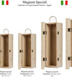 Cassetta in legno per Magnum Speciali
