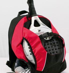 Zaino sport scuola con vano scarpe e racchetta