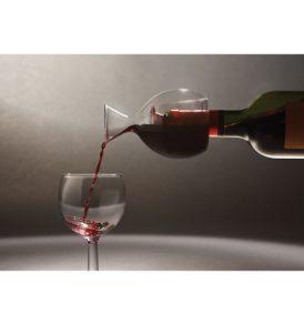 Decanter vino in vetro soffiato