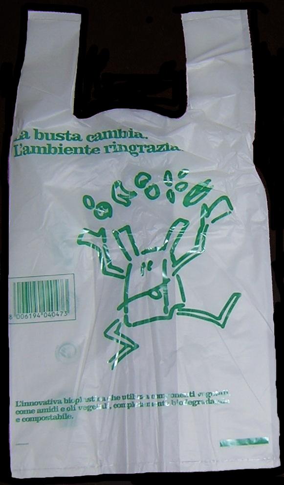 Borsa Biodegradabile Compostabile 500pz iper