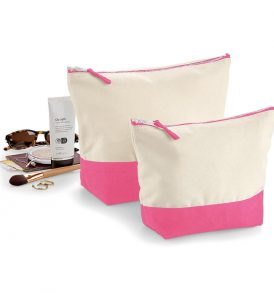Beauty Case Trousse in Canvas bicolor