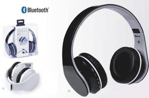 Cuffia Auricolari Bluetooth e Jack music
