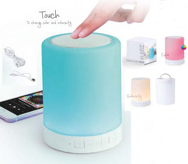 Autoparlante Bluetooth led touch