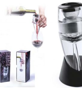 Decanter vino in acrilico