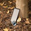 Zaino solare pc tablet con porte usb per ricarica