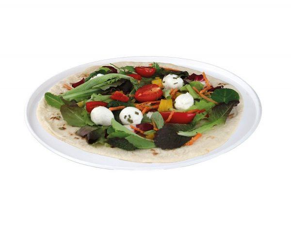 Piatto pizza biodegradabile