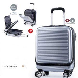 Trolley bagaglio a mano tasca laptop 17″