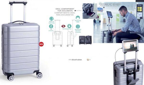 Trolley viaggio ABS sicurezza TSA
